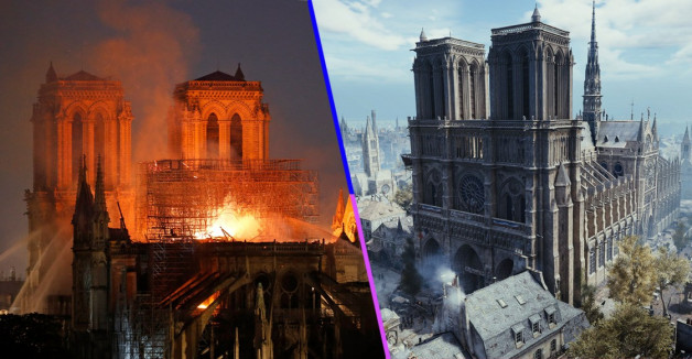 Assassins creed notre dame